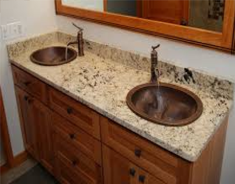 granite countertops bathroom vanity master cabinets with a